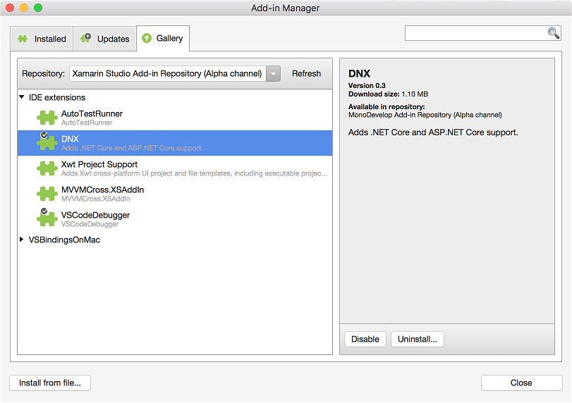 ASP.NET Core 1.0 RC2 support in Xamarin Studio - Matt Ward