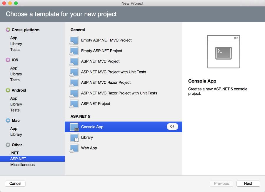 ASP.NET 5 and DNX support in Xamarin Studio - Matt Ward
