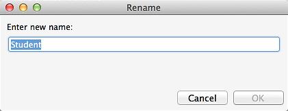 TypeScript rename dialog